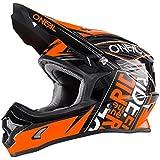 Casque Motocross Enfant Oneal 2017 3Series Fuel Orange (S Enfant , Orange)