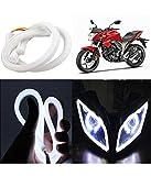 #5: Petrox Flexible 30cm Headlight Neon DRL Tube ( White Light ) For R15