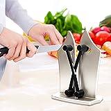 bavarois Edge couteau de cuisine Aiguiseur–StillCool (2018NEUF Design) Maison de cuisine professionnel Aiguiseur de couteaux pour classique dentelé, biseauté, lames Standard avec deux Bords réglable 2000+ Instagram J'aime