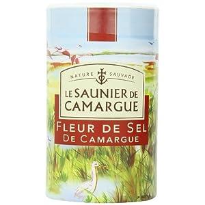 Le Saunier Fleur De Sel De Camargue, Sea Salt, 35.27, 0,5 Kg, 1 Kg, Kanister, Für Den Garten, Rasen, Instandhaltung