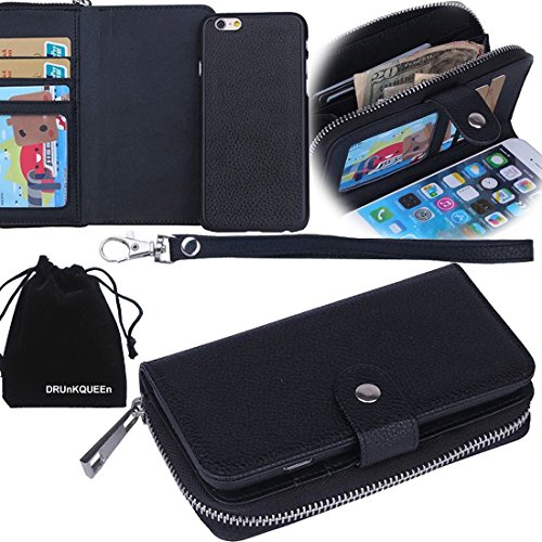 for-apple-iphone-5-5s-drunkqueentm-purse-case-zipper-wallet-flip-case-cover-with-magnetic-back-case-