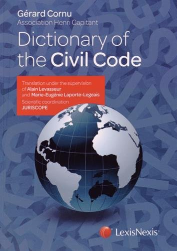 Dictionary of the civil code par Alain-A Levasseur
