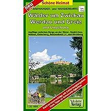 Doktor Barthel Wander- und Radwanderkarten, Wander- und Radwanderkarte Wälder um Zwickau und Greiz und Umgebung (Schöne Heimat)