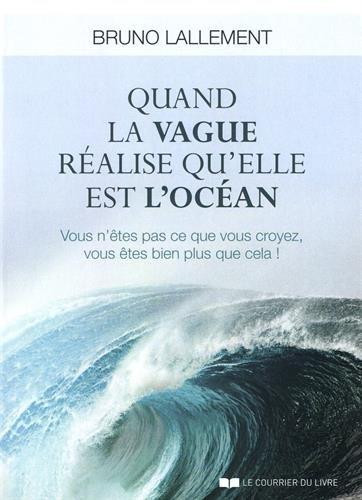 Quand la Vague Realise Qu'Elle Est l'Océan par Bruno Lallement