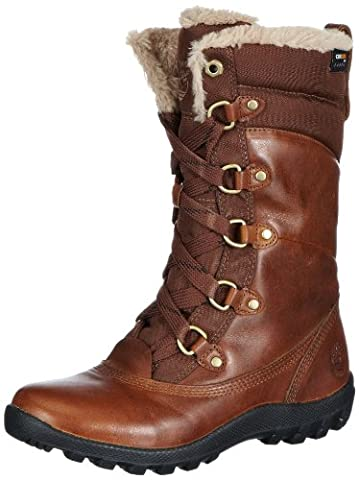 Timberland Women's MT Hope Mid L/F WP Boot,Tobacco,11 W US