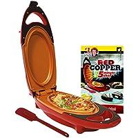 Cocina Omelette antiadherente de cobre rojo de 5 minutos para cocinar en 5 minutos o menos