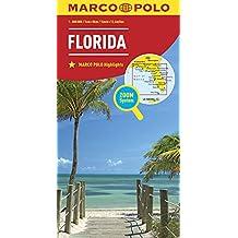 MARCO POLO Länderkarte Florida 1:800 000 (MARCO POLO Länderkarten)