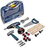Theo Klein Bosch Large Toy Screwdriver Case With Accessories