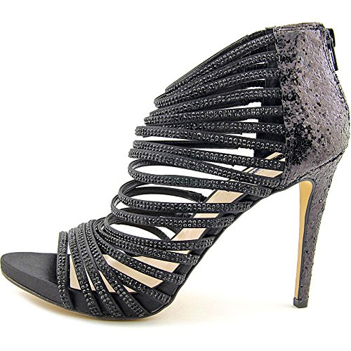 INC International Concepts Rowell Synthetik Sandale Black