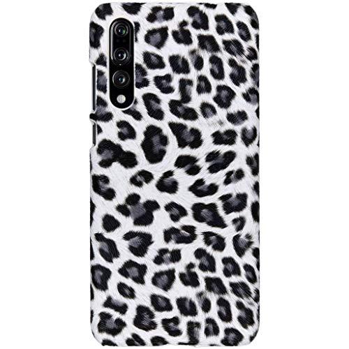 hCase Huawei P20 Pro Hülle - Leopard, Wildkatze, Tiermuster - Hard Case Handyhülle Leopard Hard Case Cover
