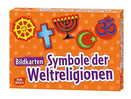 Bildkarten Symbole der Weltreligionen (Bildkarten für Kindergarten, Schule und Gemeinde)