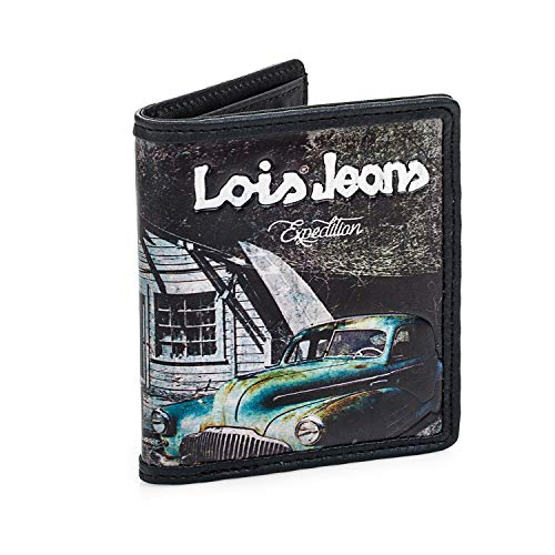 Lois - Billetero Juvenil Lona Estampada. Cartera Chico