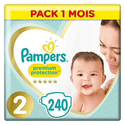 Pampers - New Baby - Couches Taille 2 (4-8 kg)-...
