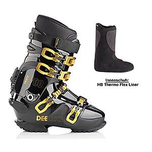 Deeluxe Track 700T mit Thermo-Flex-Liner Snowboardschuh Hardboots Alpin Boots Schuh für Raceboard Snowboard