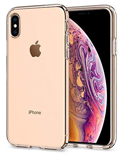 35c297ae120 spigen Liquid Crystal Funda iPhone XS/X con Protección TPU Flexible y  Ligero para iPhone