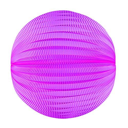 Tim & Puce 50220M - Farolillos Redondos (20 cm), Color Rosa