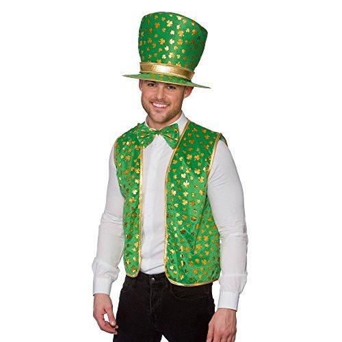 Herren ST PATRICKS Set Kostüm für Irland Irish Fancy Kleid (Dress Fancy Kostüme Irland)