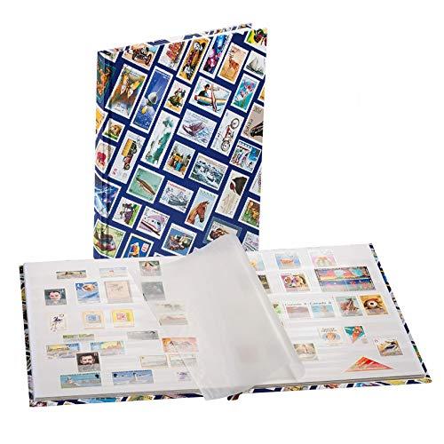 16 weiße Seiten A5 Briefmarken Jugend-Steckbuch Prophila Leuchtturm Einsteckbuch