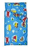 Kindertraum 520853085331 Kinderbettwäsche Alles was fährt 40/60 und 100/135 cm, Des. 8583