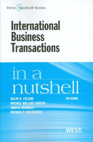 International Business Transactions in a Nutshell (Nutshell Series)