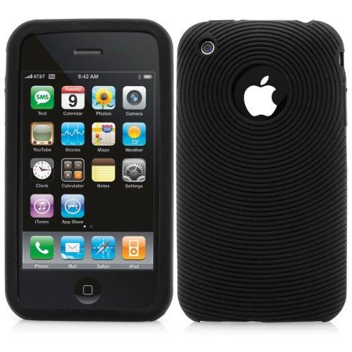 Apple iPhone 3G/3GS Outdoor Silkon Bumper Hülle Etui Handyhülle Handytasche - schwarz Iphone 3g