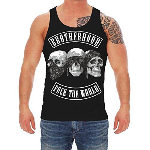 Life Is Pain - T-shirt - Abbigliamento - Senza maniche  - Uomo Nero  nero