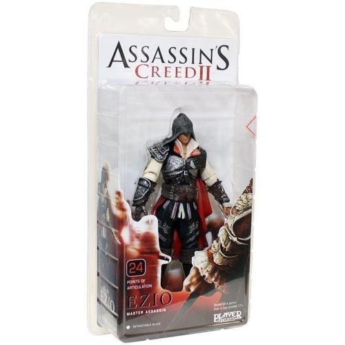 NECA Assassins Creed II - Ezio Master Assassin Figur