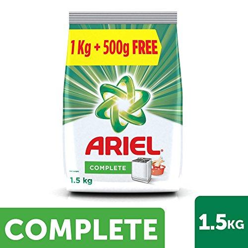 Ariel Complete Detergent Washing Powder – 1 kg with Free 500g