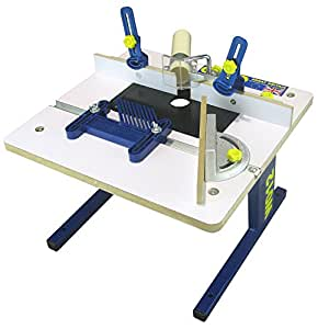 Charnwood W012 Bench Top Router Table White Amazon Co