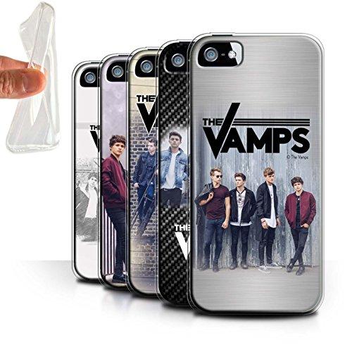 Officiel The Vamps Coque / Etui Gel TPU pour Apple iPhone SE / Pack 6pcs Design / The Vamps Séance Photo Collection Pack 6pcs