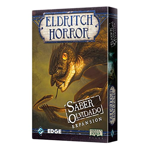 Edge Entertainment - Saber Olvidado: Eldritch Horror, Juego de Mesa (EDGEH02)