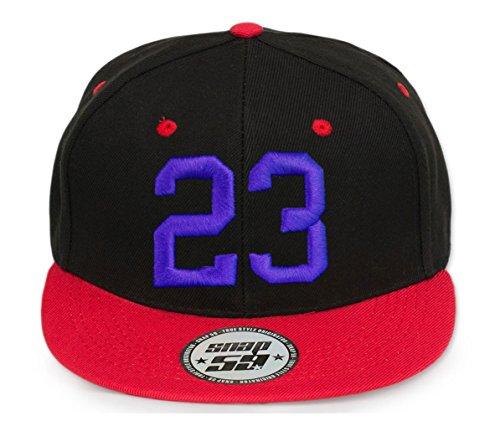 4sold baseball cap ABC Letter ABC Casquette Snapback en Rouge / Blanc avec les lettres A à Z 23 3d blue