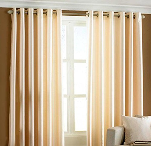 Home Candy Eyelet Fancy Polyester 2 Piece Door Curtain Set - 84
