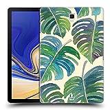 Head Case Designs Muster 4 Grün Ruckseite Hülle für Samsung Galaxy Tab S4 10.5 (2018)