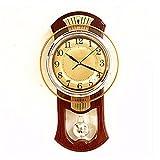 WERLM Persönlichkeit Design Home Decor Wall Clock Kunst Uhr idyllische Stille Uhren Wecker Schlafzimmer Wohnzimmer Wanduhren kreative Wandtafeln Mode moderne Quarzuhren Ideal für Home Küche Büro Schulen Ideal für jeden Raum, A