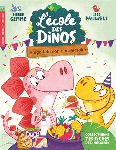L'Ecole des Dinos (4) : Stéga fête son anniversaire