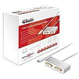 Club3D csv-2602USB 3.0zu HDMI GRAPHICS ADAPTER MIT 3x USB-Hub Graphic Karten, silber