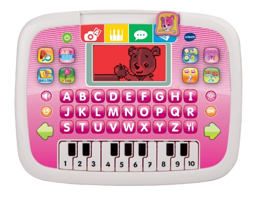 Vtech - 139455 - Jeu Électronique - Tablette P'tit - Genius Ourson - Rose
