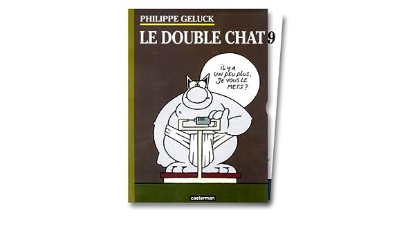 Amazon coffret le double chat albums philippe geluck