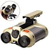 hetkrishi night scope toy binocular with pop-up light for kids- Multi color