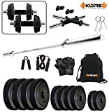 Kore K-PVC-20KGCOMBO9 Home Gym and Fitness Kit