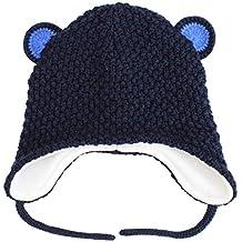 8eff797861d1 Langzhen Bébé Bonnet Enfants Protection Oreille Chapeau d hiver Doux Chaud  Bonnet Tricoté