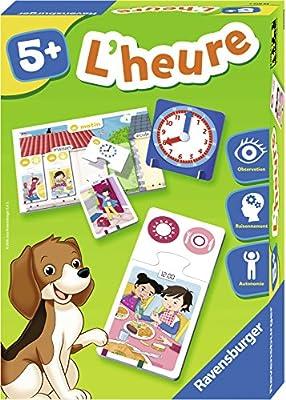 Ravensburger 24072 - Jeu Educatif - l'Heure