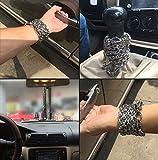 Penixon volle Stahl Selbstverteidigung Hand Armband Kette (Silber) -