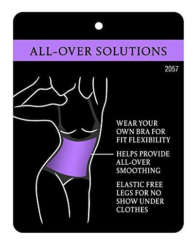 Maidenform Damen Formender Body Sleek Smoothers WYOB Briefer Everyday Control & Light Weight, Einfarbig Schwarz (Schwarz BK)