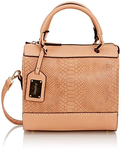 HENLEY Womens Tamara Bowling Bag Peachy Pink