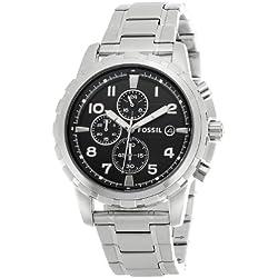 Fossil Dean Chronograph Analog Black Dial Men's Watch - FS4542