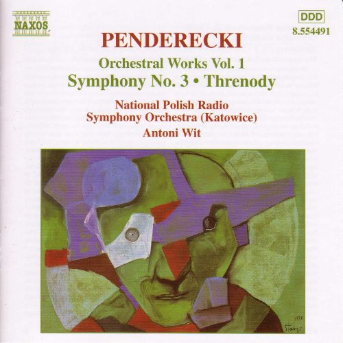 Penderecki: Symphony No. 3 / Threnody By Polish National
