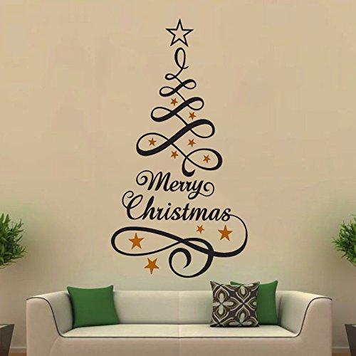 Arbol navidad pared rbol navidad pared mi rbol de for Vinilos pared navidad