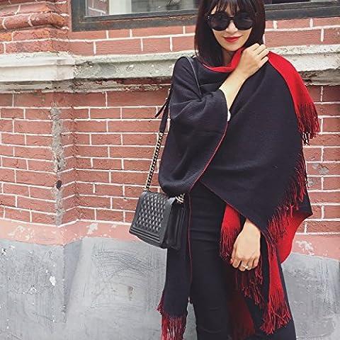 Cachemire caldo del capo inverno autunno foulard da donna